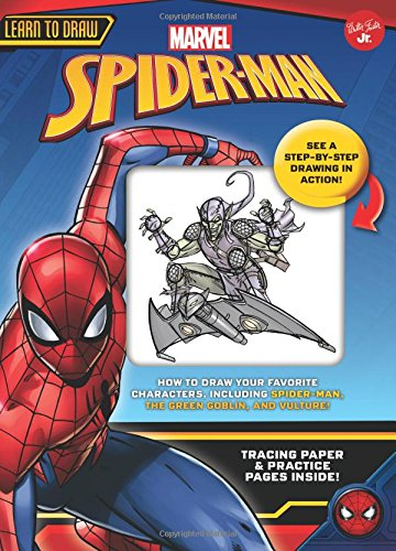 Learn to Draw Marvel Spider-Man: How to draw your favorite characters, including Spider-Man, the Green Goblin, and Vulture! (Licensed Learn to Draw) for $<!--$9.48-->