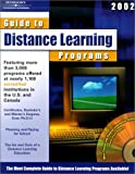 Distance Learning Programs 2002, Peterson's Guides Staff, 0768905559