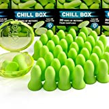 Innerpeace Ventures Chill Box Ear Plugs, 20 Pairs