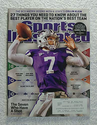 - Collin Klein - Kansas State Wildcats - The Best Player on the Nation's Best Team - Sports Illustrated - November 19, 2012 - College Football - SI