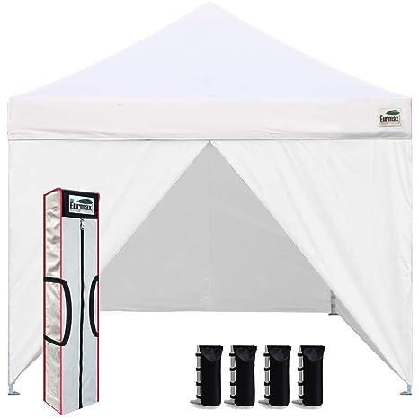 Amazon com : Eurmax 10 x 10 Pop up Canopy Commercial Tent