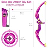 Liberty Imports Light Up Princess Archery Bow and