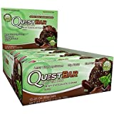 :Quest Nutrition Protein Bars - Mint Chocolate Chunk - 2.1 Oz. Bars (1-Pack of 12)