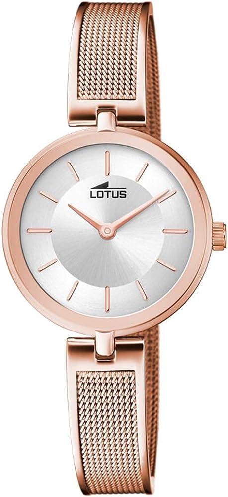 Lotus Reloj para de Cuarzo con Correa en Acero Inoxidable 18599/1