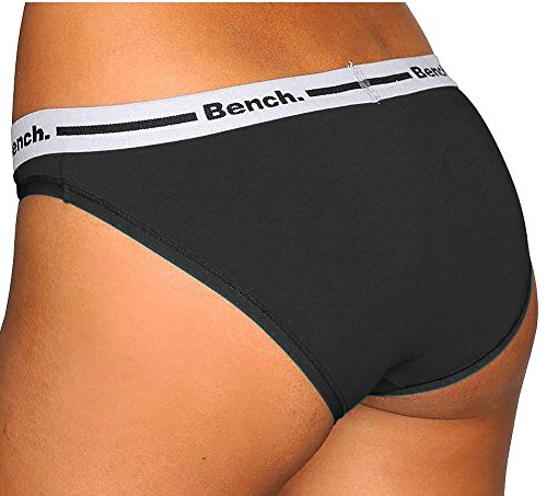 Bench. - Bikini - para mujer Anthrazit+Schwarz+Weiß