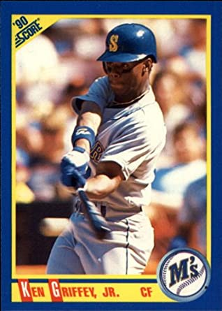 Amazoncom 1990 Score Baseball Card 560 Ken Griffey Jr