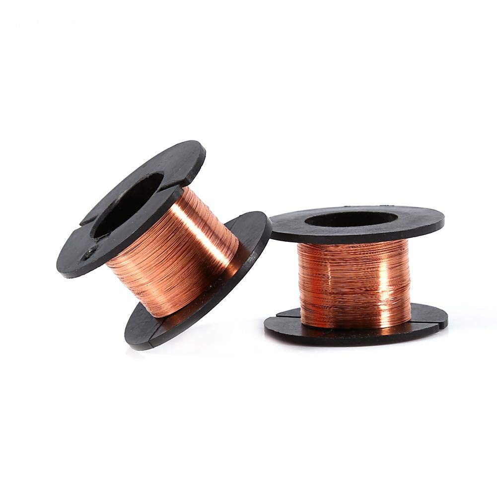 5PCS 0.1mm Enameled Copper Wire, Made of High Electrical Conductivity Copper, Used in Professional Maintenance of Mobile Phones, Laptops and Other Precision Motherboard by Mugast (Image #6)