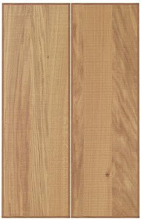 Ikea Hyttan 2 P Porte F Meuble D Angle En Chene Vernis Lot De 25 X