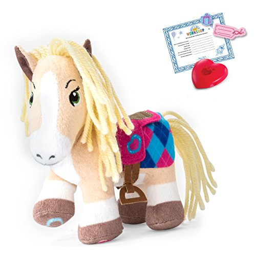 Build A Bear 20086677 Workshop - Furry Fashions – Palomino Pony Stuff Your Furry Friend, Multi