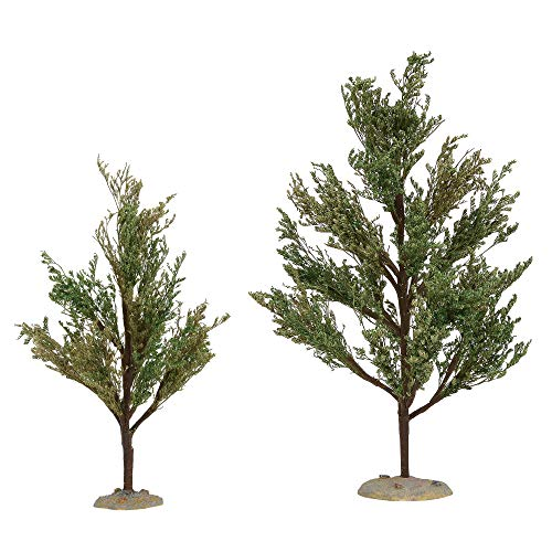 (Department 56 Village Collections Accessories Southern Oak Tree Figurines 9