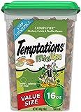 TEMPTATIONS MixUps Cat Treats CATNIP FEVER, 16 oz. Tub