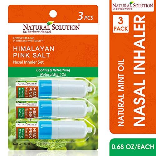 Pack of 3: Natural Solution Allergy Relief Nasal Spray, Allergy Medicine Nose Spray, 24 Hour Non Drowsy