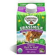 Organic Valley, Grassmilk Half & Half, 16 oz