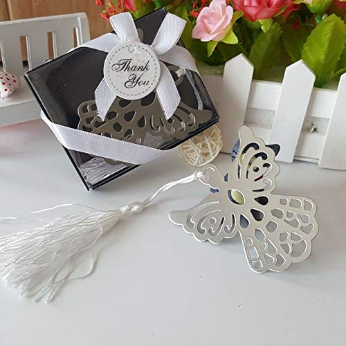 50pieces Angel Metal Bookmarks Wedding Favors Party Gifts