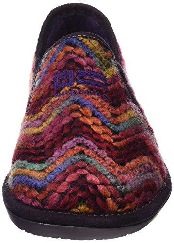 Nordikas Top Line, Zapatillas de Estar por casa para Mujer, Rojo (Rubí), 41 EU: Amazon.es: Zapatos y complementos