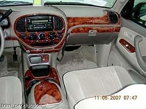 Amazon Com Toyota Tundra Interior Burl Wood Dash Trim Kit