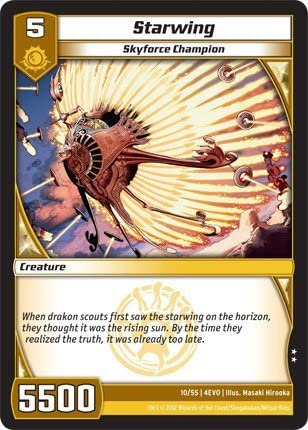 Kaijudo TCG - Starwing (10) - Evo Fury by Kaijudo: Rise of the Duel Masters: Amazon.es: Juguetes y juegos