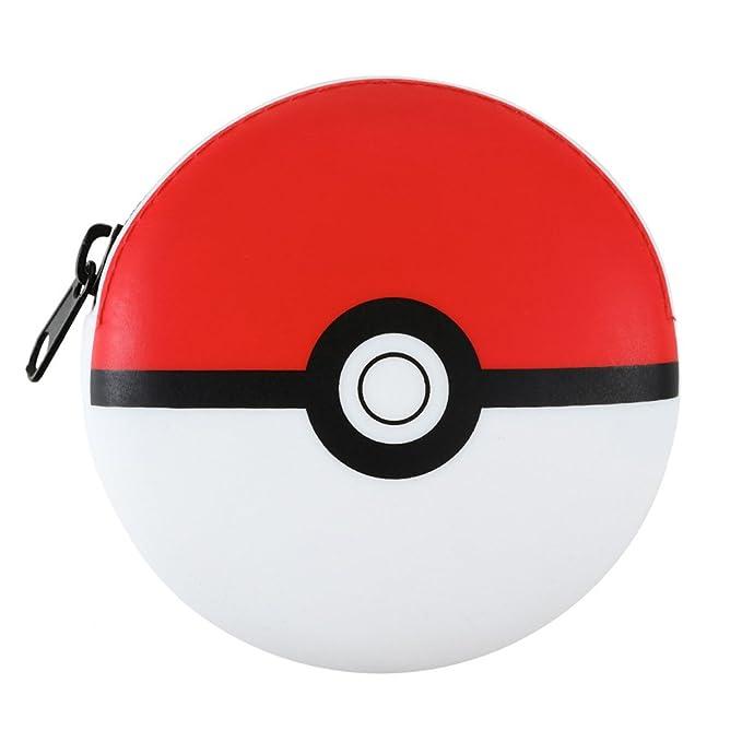 Pokemon Pokeball Silicone Pouch Coin Purse