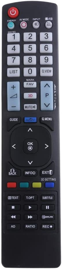 akaddy Mando a Distancia Universal para LG AKB73615309 Reemplazo de Control Remoto de TV: Amazon.es: Hogar
