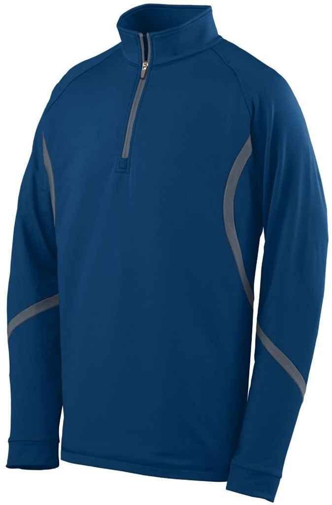 Augusta Sportswear 4760大人用Zealプルオーバー B00EZN7H18 4L|ネイビー/ グラファイト ネイビー/ グラファイト 4L