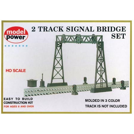 Signal Bridge 2 Track Set by Model Power -
