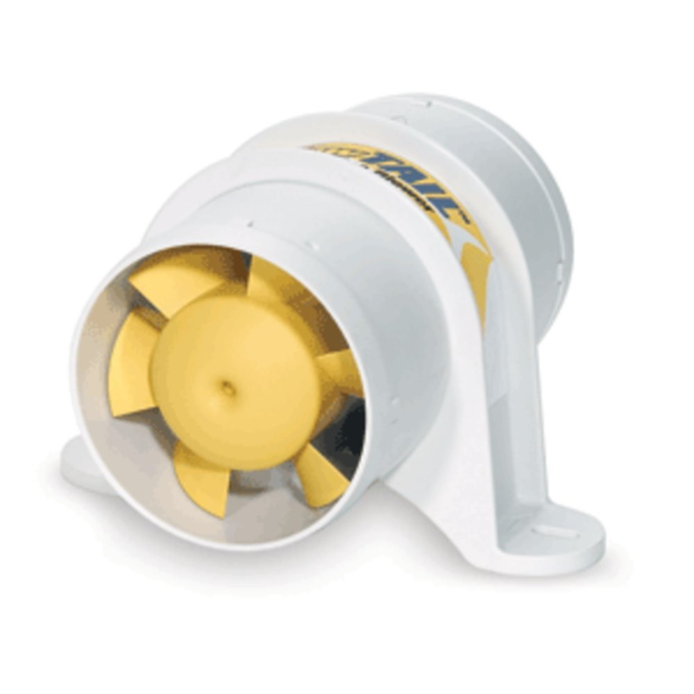 SHURFLO YELLOWTAIL™ 3 Marine Blower - 12 VDC, 120 CFM - 1 Year Direct Manufacturer Warranty