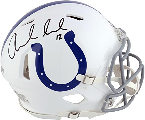 Andrew Luck Indianapolis Colts Autographed Speed Replica Helmet - Panini - Fanatics Authentic Certified