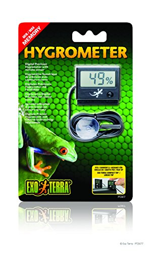 Exo Terra Digital Hygrometer with Probe by Exo Terra