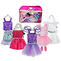 Girls Dress up Costume Set