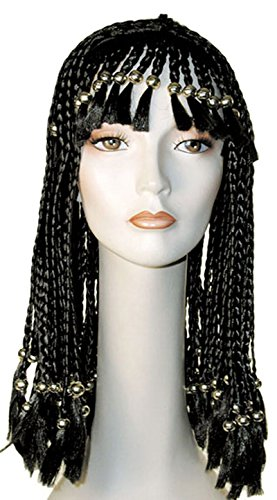 Morris Costumes Cleo Beaded W Gold Beads Aubur]()