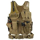 Best Tactical Vests - Barbarians Tactical Molle Vest Military Airsoft Paintball Vest Review