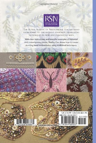 RSN ESG: Bead Embroidery: Essential Stitch Guides (Royal School of Needlework Essential Stitch Guides)