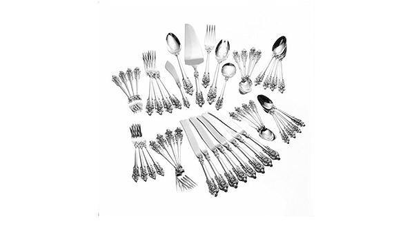 "Grande Baroque by Wallace 6 1//4/"" Sterling Silver Teaspoon 1.1 oz."