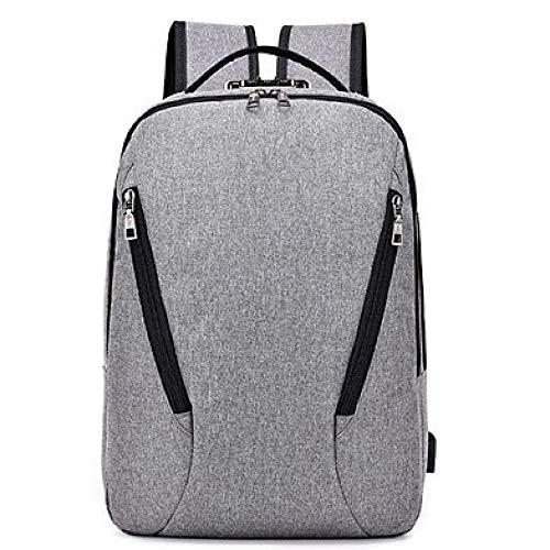 Anti Capacity theft Men's Bag Backpack Computer Fashion Dhfud Gray Large tq0FxYwq5