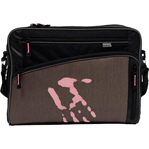 Dunkelgrau it Rosa Bag warm kalt Touch Street Oxmox L Gris T4AqxYBTw5