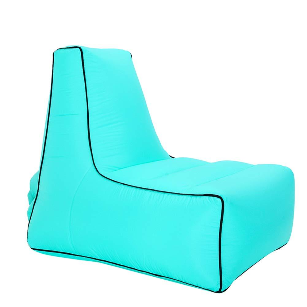 G M(857080CM) TZTED Sofa Paresseux de Chaise Longue imperméable épaissie, Sofa Gonflable de Chaise Longue d'air, Chaise Pliable de lit avec Le Sac de Transport pour la Plage de Camping