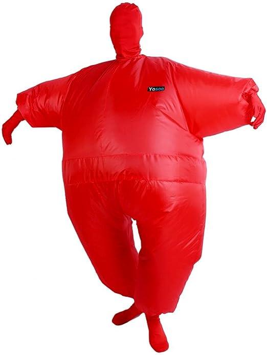 Traje inflable, traje hinchable, traje hinchable de gorro de ...
