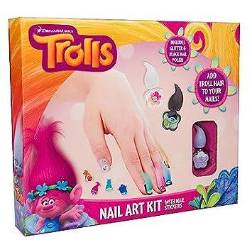 Dreamworks trolls nail art kit amazon toys games dreamworks trolls nail art kit prinsesfo Choice Image