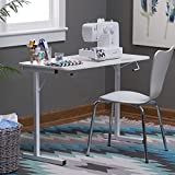 Arrow Sewing Cabinets 601 Gidget, Sewing Table, White