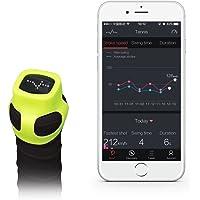 USENSE Smart Tennis Sensor Sports Performance Training Aid Swing Analyzer for Racket Black