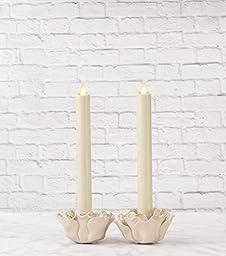 Set of 2 Luminara Taper Candles: 8\