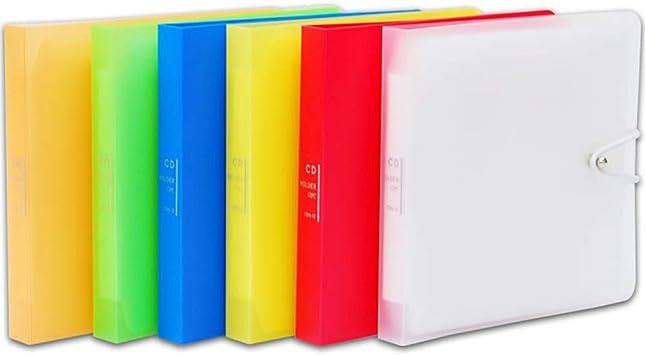 Shyymaoyi - Estuche de plástico para 12 CD y DVD: Amazon.es: Electrónica