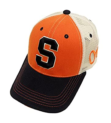 NCAA Syracuse Orange Mesh Cap, Blue, One Size from donegal bay licensed sporting goods