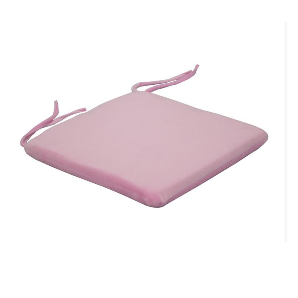SIMPVALE Chair Pads Addensato sedile cuscino natiche imbottito in memory foam Core con interno in velluto copertura, Pink, 40x40cm/15.8'x15.8' 40x40cm/15.8x15.8 HHT46701PI