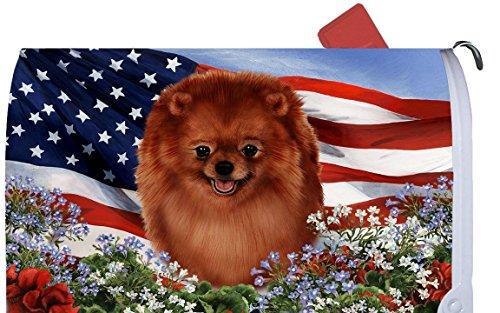 Pomeranian Mailbox Cover
