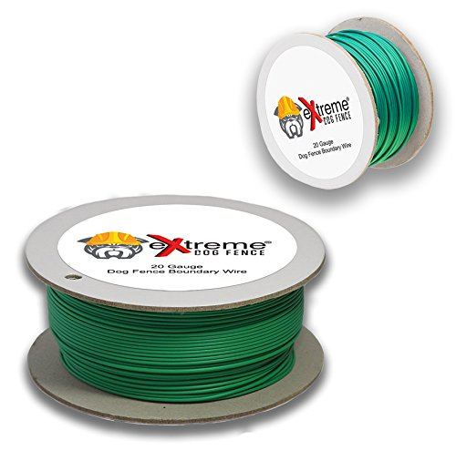 Extreme Dog Fence 20 Gauge Wire 1000 Ft - Pet Containment Wire Compatible with EVERY In-Ground Fence System for Dogs - Pure Solid Copper Core Dog Containment System Wire by by Extreme Dog Fence