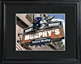 Chicago Bears Pub Sign with Wood Frame