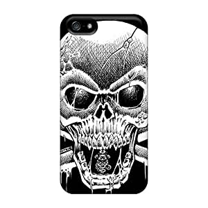 Anti-Scratch Hard Phone Cover For Iphone 5/5s With Custom High-definition Avenged Sevenfold Band A7X Pattern InesWeldon