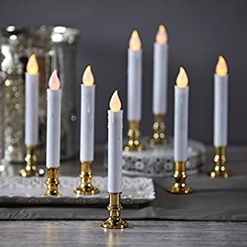Amazon Com Window Candles With Remote Timers Battery