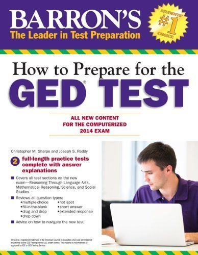 All New Content for the Computerized 2014 Exam How to Prepare for the GED/® Test